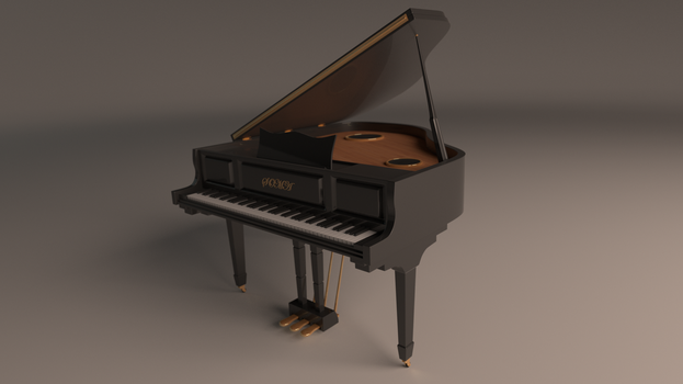 Gram Piano by RichterBelmont123