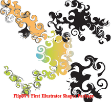 Illustrator Abstract Shapes by FlipDV