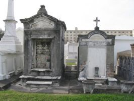 Trio of Graves by Ferriman