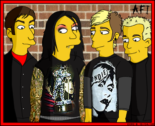 AFI Simpsons Style by Laelya
