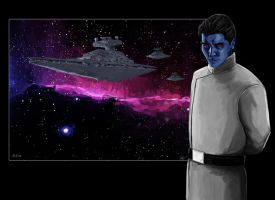 Grand Admiral Thrawn by Galeart