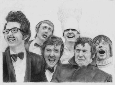 Monty Python's Flying Circus by PakstraX