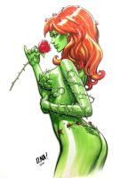 Poison Ivy Marker Sketch by DNA-1