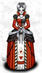 Queen of Hearts by serenity22