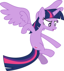 Twilight Sparkle Flying by Mio94
