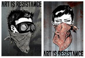 art is resistance by valer5a5u