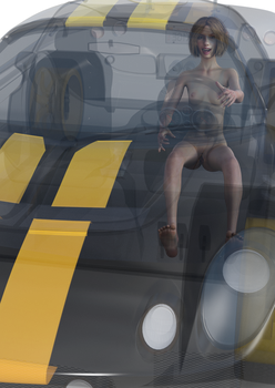 4.052 - Transparent Car by beedoll