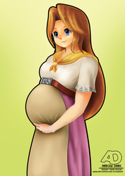 Malon's big surprise. by ArrowDark