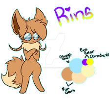 Rins The Eevee! by LittleMoon-Chan