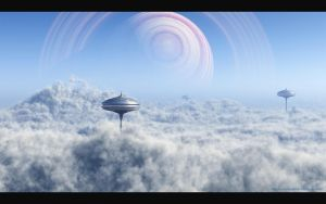 Above The Clouds by DarinK