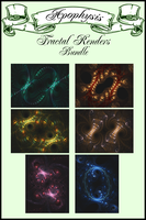 Fractal Renders Bundle by Will3Style