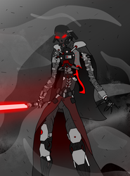 Star Wars- Darth Vader Redesign by MethusulaComics