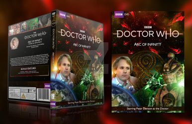 Doctor Who - Arc of Infinity DVD Cover 2018 logo