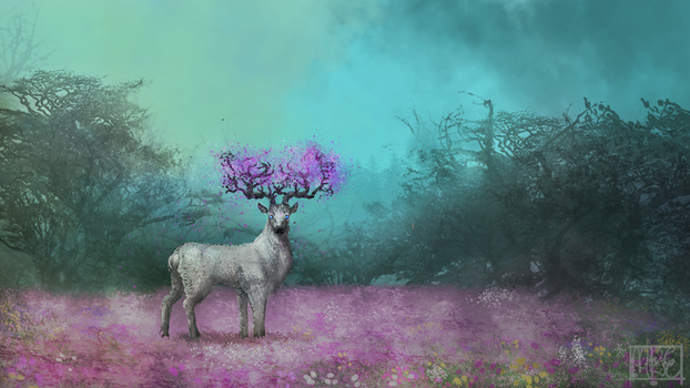 Master of the Glade by MarianneEie