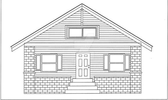 Front Elevation by bagtop
