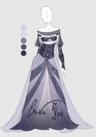 :: Adoptable Moon Outfit: Auction CLOSED :: by VioletKy