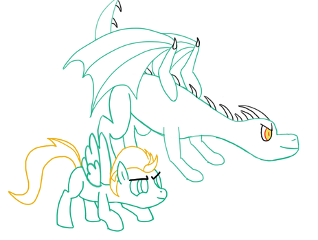 Weekly Art Practice #6: Unfinished by beerpony