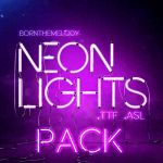 Neon Lights Pack (.ttf / .asl) by bornthemelody