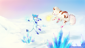 Fire Versus Ice by BloodlineV