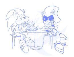 Commission: Dinner for two..? by Jammerlee