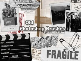 Old Essentials Brushes by InvisibleSnow