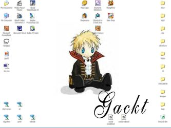 Gackt loving pc by bloodyblue