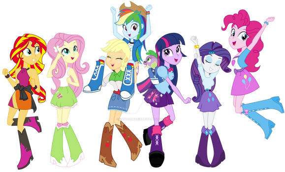 We are Equestria Girls by FamousMari5
