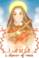I will let fall a shower of roses by Christus-Imperat