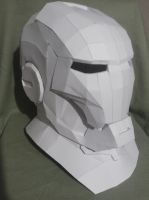 Iron Man Pepakura by MidnoonMoon