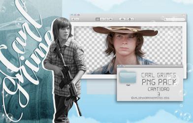 Carl Grimes Png Pack by valeryscolors