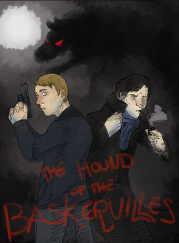 Request: Hound of the Baskervilles by KiertoVoltinPoika