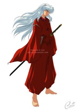 Inuyasha - Colored by Cati-Art