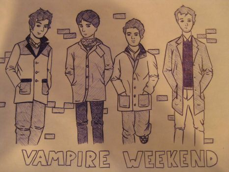 vampire weekend by rainbowmess