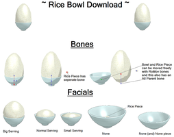 MMD Rice Bowl Download by TheFrilliestLoser