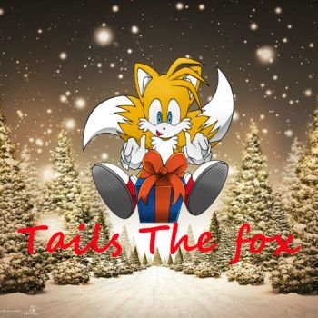 Youtube Tails christmas icon by tailsthefox102
