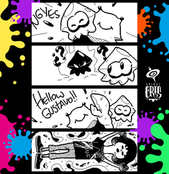 Splatoon Miiverse Art 45 by SPIRALCRIS