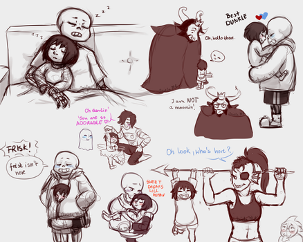 Undertale: Doodles by Magic-Ray