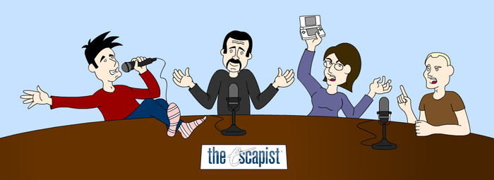 Escapist Podcast Team by PeregrinFrisk