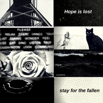 [aesthetic #14] : [black] by snowflake20006