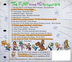 The FuMP Volume 40 CD album back cover by artbylukeski