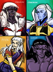 My Fav. Guys In Gargoyles by MMHinman