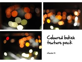 coloured bokeh texture pack by ntscha
