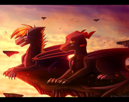 Everlasting Sunset - collab by Skaynoodle