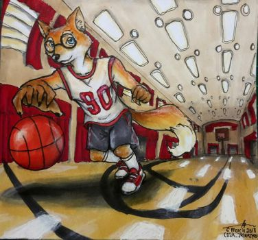 Basketball Practice by CrazyDragon2000