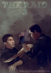 Scott Adkins VS Iko Uwais by Katarina-Venom