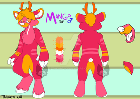 Mango ref sheet by Takarti