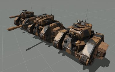 Leman Russ Family WIP by T2Gibbon