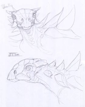 Boceto polacanthus by epic3d