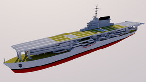 Fury-class Battleship (Aircraft Carrier) by TheoComm