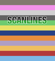 Scanlines background psd by psdlight